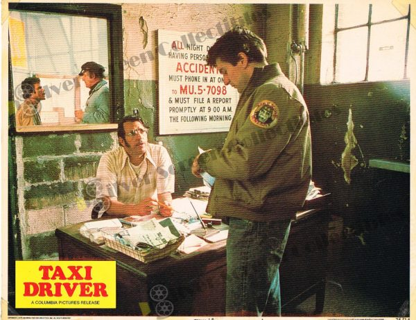 Lobby Card from  Taxi Driver