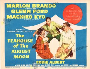 Lobby Card From The Teahouse of the August Moon