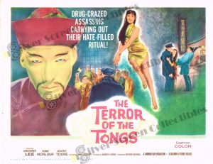 Lobby Card from The Terror of The Tongs