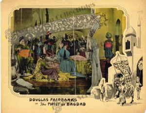 Lobby Card from The Thief of Bagdad