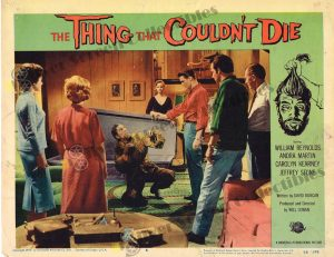 Lobby Card from The Thing that Couldn't Die