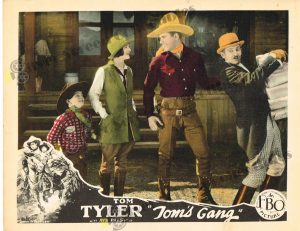 Lobby Card from  Tom's Gang