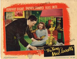 Lobby Card From The Two Mrs. Carrolls