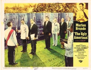 Lobby Card from The Ugly American