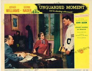 Lobby Card from The Unguarded Moment