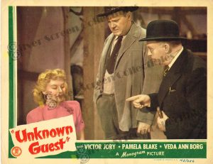 Lobby Card From Unknown Guest