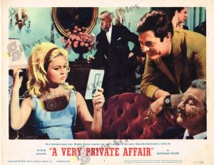 Lobby Card from A Very Private Affair