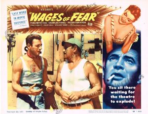 Lobby Card From Wages of Fear