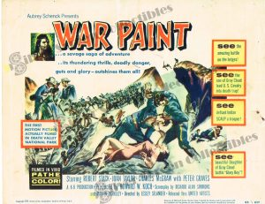 Lobby Card From War Paint