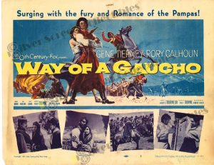 Lobby Card from  Way of a Gaucho