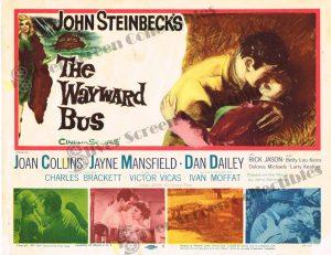Lobby Card From The Wayward Bus