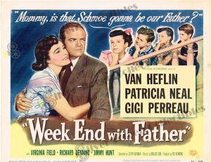 Lobby Card From Week End with Father