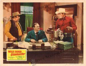 Lobby Card From Wells Fargo Gunmaster