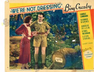 Lobby Card From We're Not Dressing