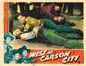 Lobby Card From West of Carson City