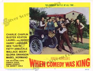Lobby Card From When Comedy was King