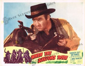 Lobby Card From When the Daltons Rode