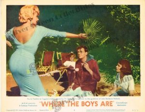 Lobby Card From Where the Boys Are