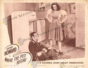 Lobby Card From Where the Pest Begins