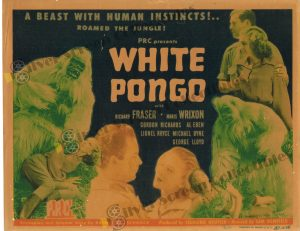 Lobby Card from  White Pongo