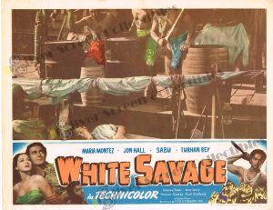 Lobby Card from  White Savage