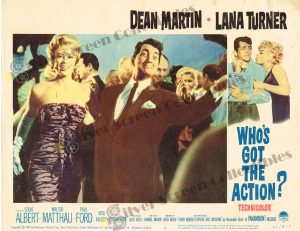 Lobby Card From Who's Got the Action?