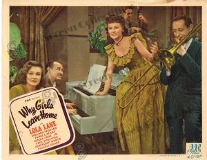 Lobby Card from  Why Girls Leave Home