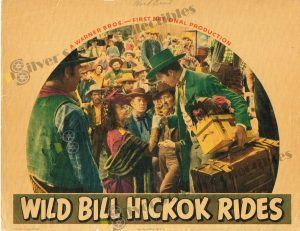 Lobby Card From Wild Bill Hickok Rides