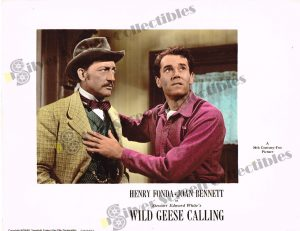 Lobby Card from  Wild Geese Calling
