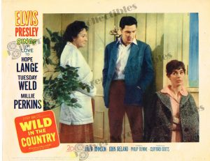 Lobby Card from  Wild in the Country