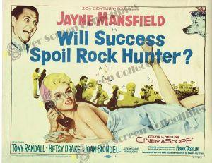 Lobby Card From Will Success Spoil Rock Hunter?