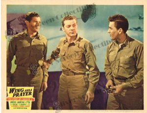 Lobby Card From Wing and a Prayer