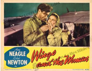 Lobby Card From Wings and the Woman