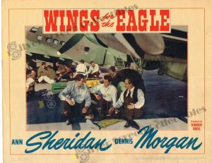 Lobby Card From Wings for the Eagle