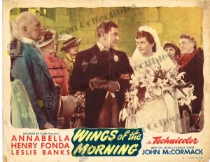 Lobby Card from  Wings of the Morning