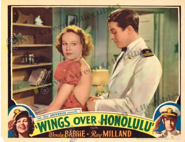 Lobby Card From Wings over Honolulu