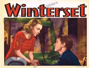 Lobby Card From Winterset