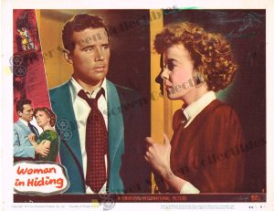 Lobby Card From Woman in Hiding