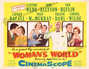 Lobby Card from  Woman's World