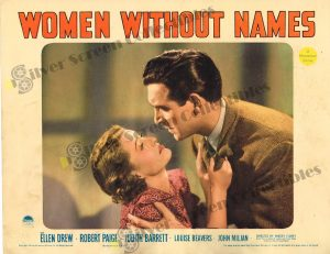 Lobby Card From Women Without Names