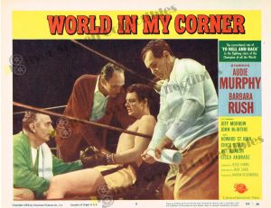 Lobby Card from  World in my Corner