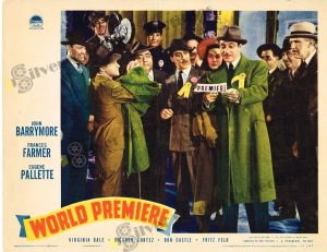 Lobby Card From World Premiere