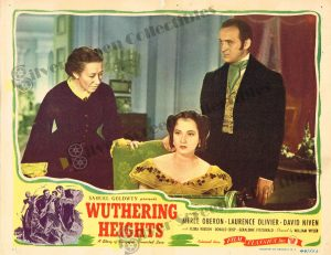 Lobby Card from  Wuthering Heights