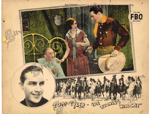 Lobby Card from The Wyoming Wildcat