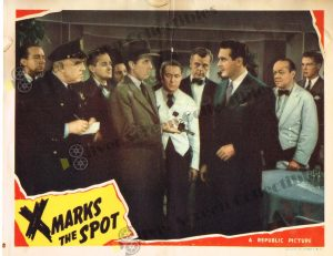 Lobby Card From X Marks the Spot