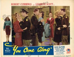 Lobby Card From You Came Along
