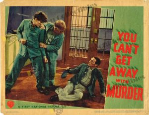 Lobby Card From You Can't Get Away with Murder