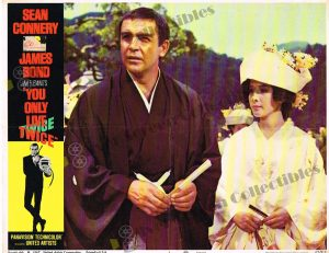 Lobby Card from  You Only Live Twice