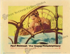 Lobby Card from The Young Philadelphians