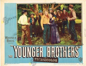 Lobby Card From The Younger Brothers